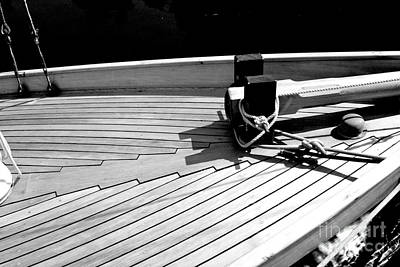 On The Deck Print by Alanna DPhoto