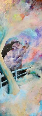 Morph Painting - On The Edge by Billy Granneman