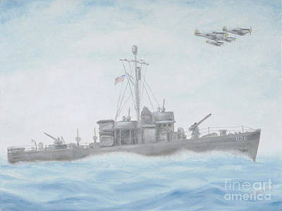 U-2 Painting - On The Hunt by Cathy Cleveland