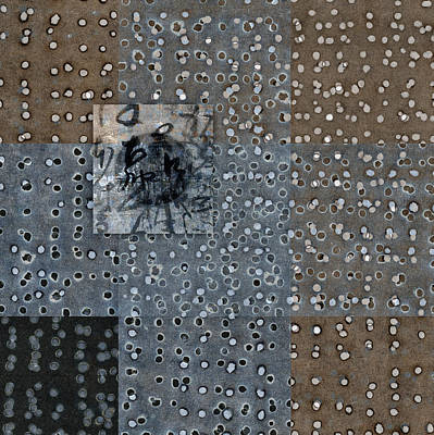 Circles Digital Art - On The Marks by Carol Leigh