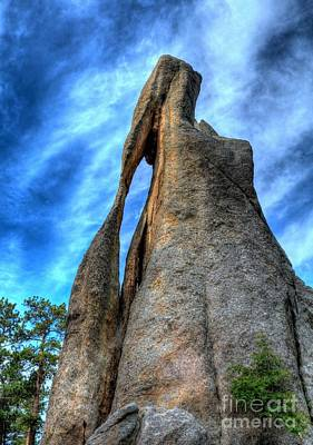 On The Needles Highway 3 Print by Mel Steinhauer
