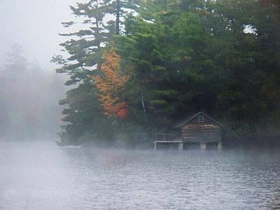On The Pond Original by Joy Nichols