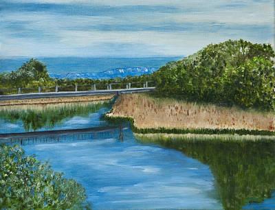 Grande Painting - On The Rio Grande by Gina Cordova