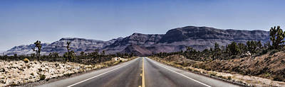Desert Photograph - On The Road by Heather Applegate