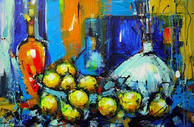 Fruit Painting - On The Rocks 9 by Irina Rumyantseva