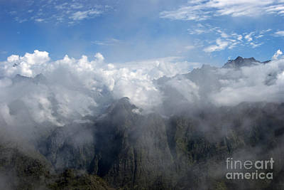 Mountain Scape Photograph - On The Top Of The World... by Nina Stavlund