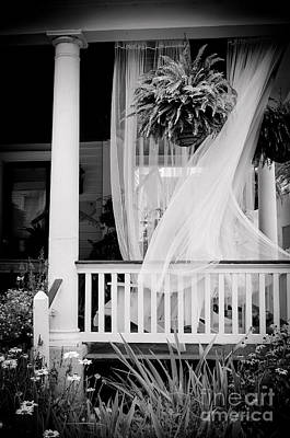 Sun Porch Photograph - On The Veranda by Colleen Kammerer