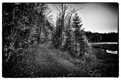 On The Way To Cary Lake Print by David Patterson