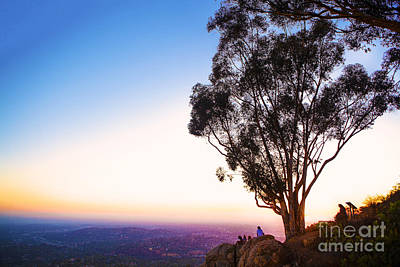 On Top Of The World Print by Kenny  Noddin