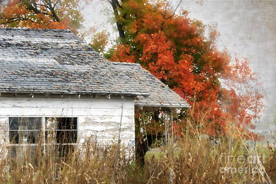 Abandoned House Digital Art - Once I Laughed by Betty LaRue