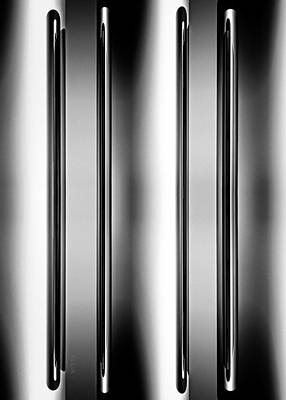Metal Photograph - One And Two Halves by Bob Orsillo