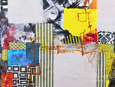 Crayons Mixed Media - One Flew Over by Elena Nosyreva