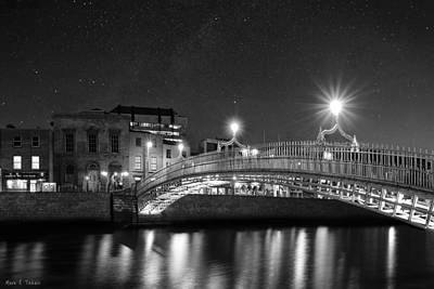 Starry Photograph - One Last Beautiful Night In Dublin Ireland by Mark E Tisdale