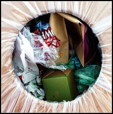 One Man's Trash Print by Marlene Burns