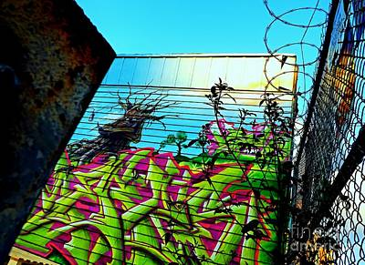 5 Pointz Photograph - One Moody Tree by James Aiken