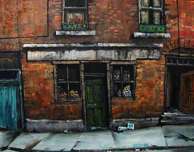 Liberty Painting - One Stop Shop by Val Byrne