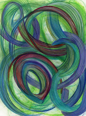 Feelings Drawing - One Stupendous Whole by Kelly K H B