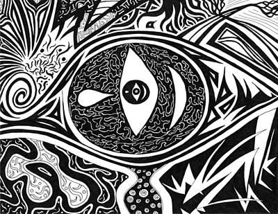 One Tear Print by Kerri White