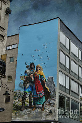Brussels Photograph - One Wall One Artist by Juli Scalzi