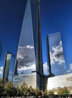 One World Trade Center Reflections Print by Dan Sproul