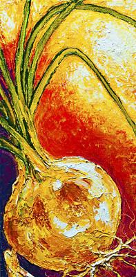 Onion Print by Paris Wyatt Llanso
