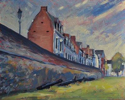 Onze Lieve Vrouwewal Maastricht Original by Nop Briex