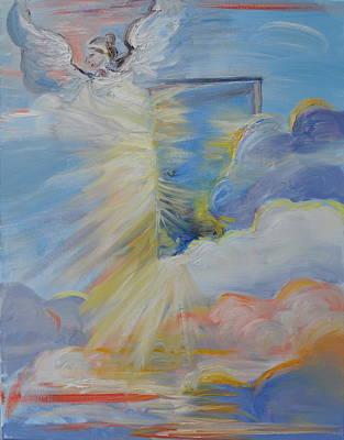 Open Door From Heaven Original by Patricia Kimsey Bollinger