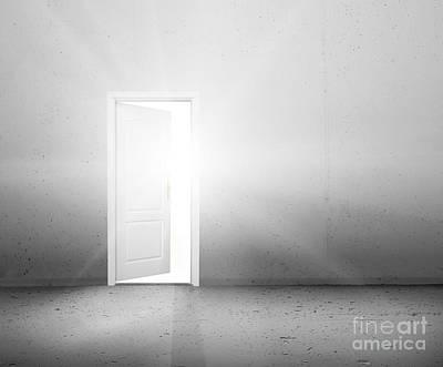 Choice Photograph - Open Door To A New Better World by Michal Bednarek