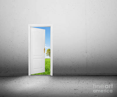 Heavens Photograph - Open Door To A New World by Michal Bednarek