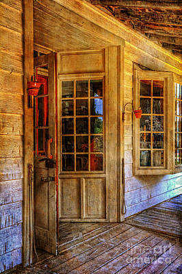 Open For Business Print by Lois Bryan