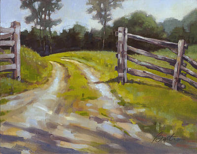 Open Gate Original by Todd Baxter