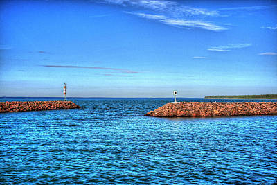 Joesph Photograph - Open Waters by Ed  Warick