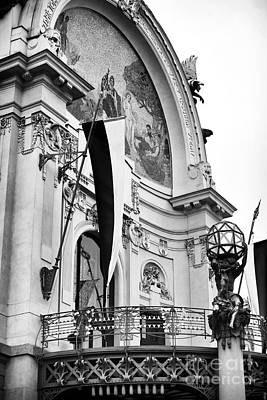 Opera House Balcony Print by John Rizzuto