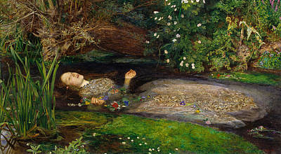 Shakespeare Digital Art - Ophelia  by John Everett Millais