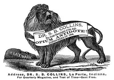 Opium Antidote, 1876 Print by Granger