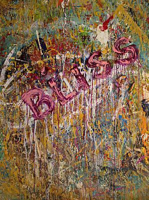 Derek Painting - Opt.58.14 Studio Wall by Derek Kaplan