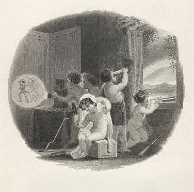 Optics And Children Print by King's College London
