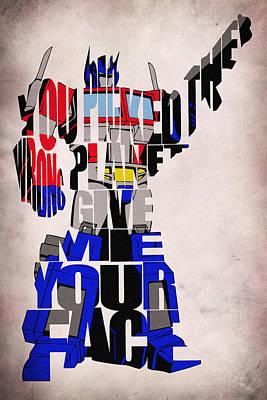 Optimus Prime Print by Ayse Deniz