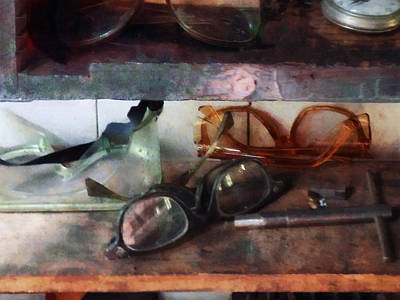 Industrial Photograph - Optometrist - Safety Glasses by Susan Savad