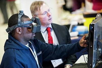 Optometry Photograph - Optometry Virtual Reality Demonstration by Dan Dunkley