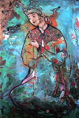 Dance Painting - Orange Blossom by Shahna Lax