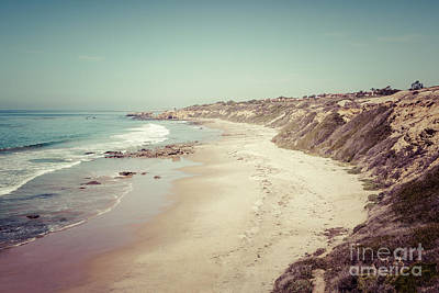 Orange County California Retro Photo Print by Paul Velgos