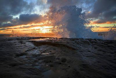 San Diego Artist Photograph - Orange Crush  by Kenny Noddin