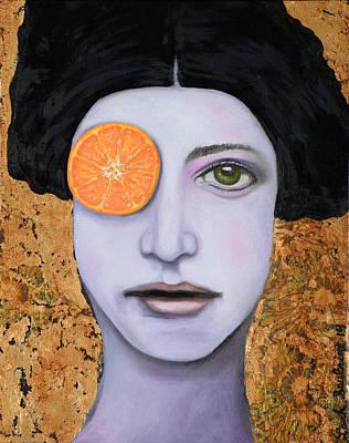 Orange Crush Print by Leah Saulnier The Painting Maniac
