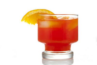 Orange Drink Print by Juli Scalzi