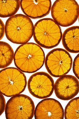 Orange Fresh Print by Vitaliy Gladkiy