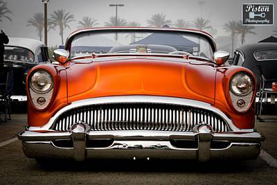 Mooneye Photograph - Orange In The Mist by Michael Kerckaert