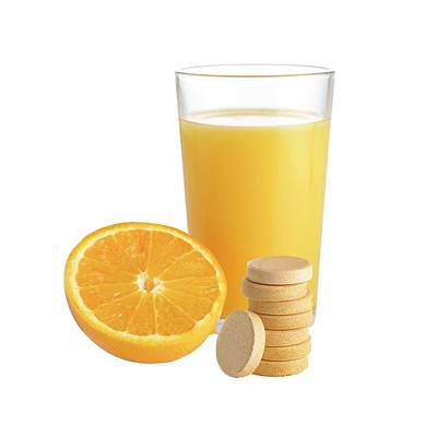 Orange Juice Print by Science Photo Library