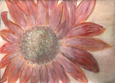 Orange Petals Print by Corina  Lupascu