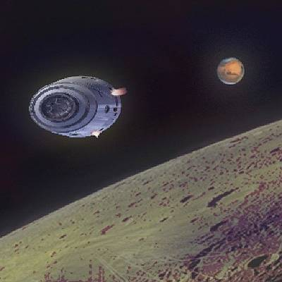 Science Fiction Photograph - Orbit by Andrew Morican